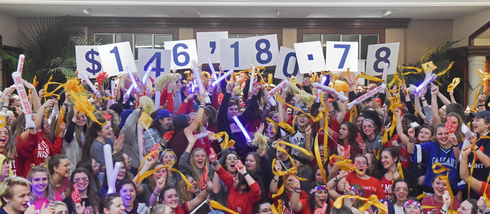 Belmont Students Reveal $146K Fundraising Total for St. Jude Children's Research Hospital on National Television Segment