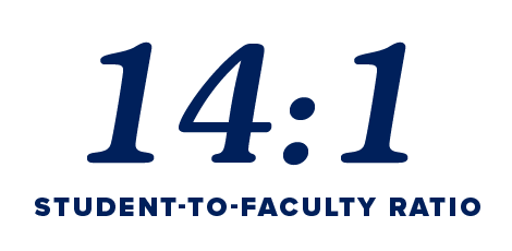 14 to 1 Student to Faculty Ratio